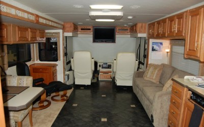 2003 Holiday Rambler Endeavor  Luxury Vinyl Flooring