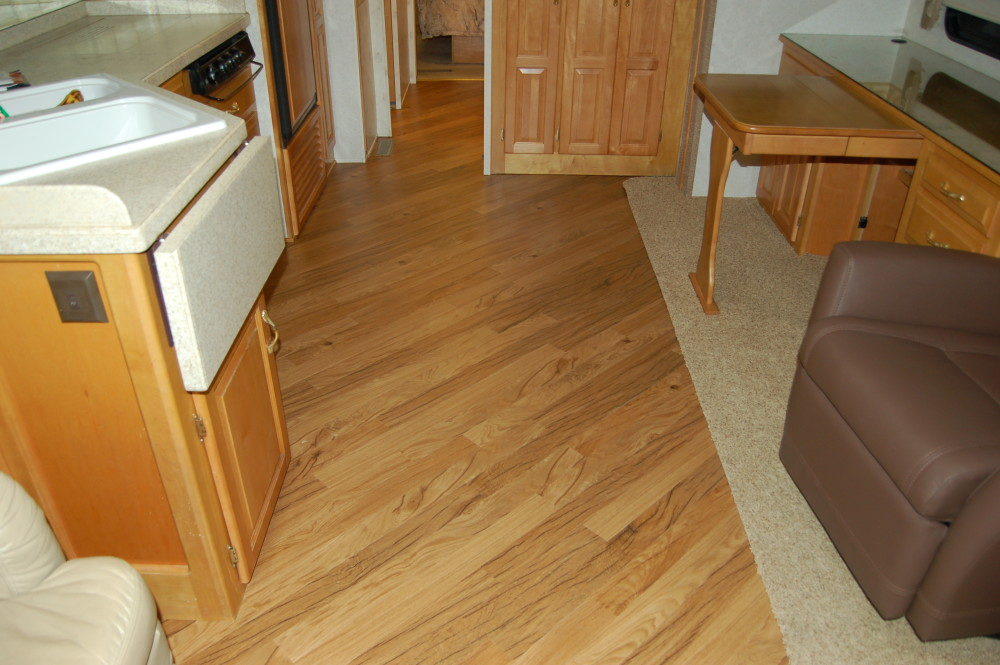 Wood Floors - RV Renovations by Classic Coach Works