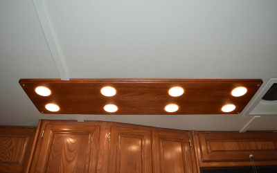 2003 Western Alpine, Wood LED Light Board