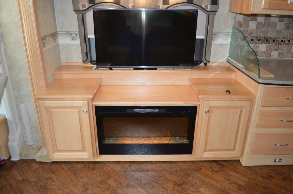 Tv Lift Rv Renovations By Classic Coach Works