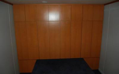 After Bedroom with Custom Lockers