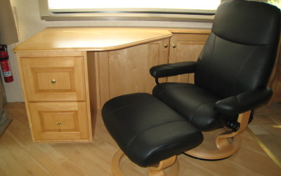 Euro Chair to go with custom built work station