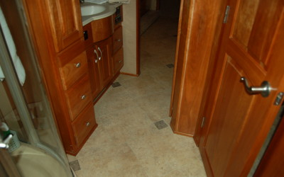 Karndean Luxury vinyl Flooring, RV Renovation