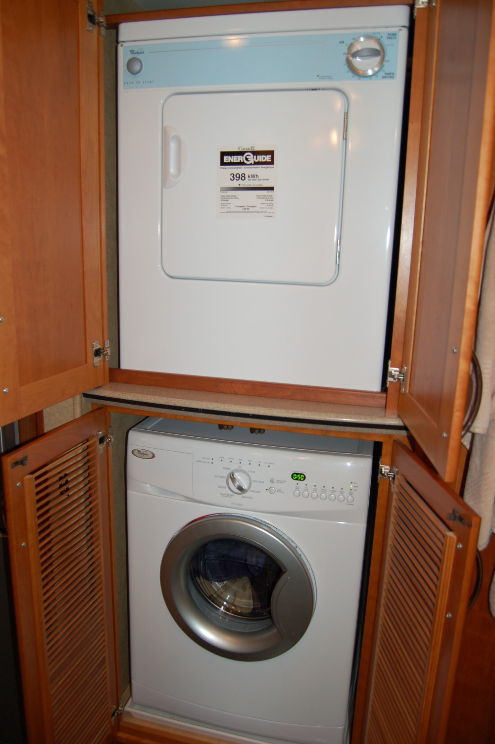 Washer And Dryer Rv Renovations By Classic Coach Works